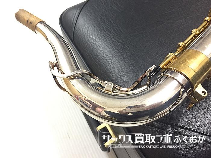 ヤナギサワの上位モデル用シルバー・プレート ネック