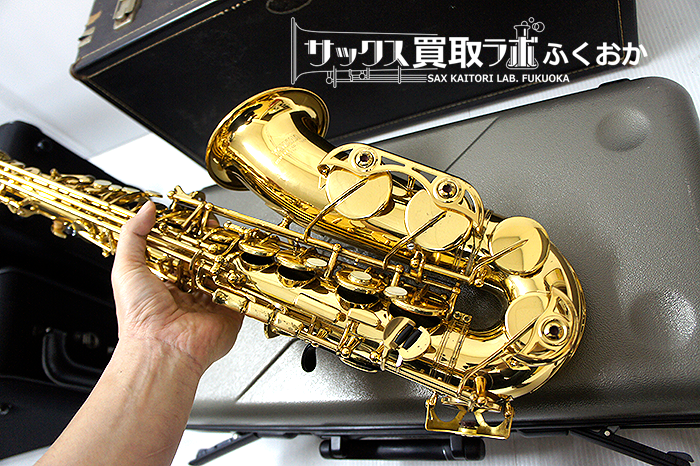 """YAMAHA YAS-62Ⅱ AltoSaxophone """"G1-neck""""その1"""